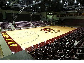 McGuirk Arena - Interior in 2007