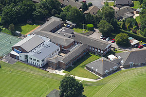 Rose Hill School - Image: Rose hill aerial 2009