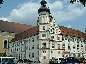 Rot an der Rot Abbey - Image: Rot an der Rot Abbey building