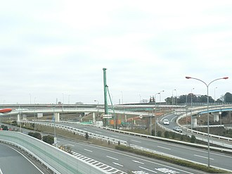 Japan National Route 16 - Interchange on Route 16