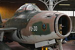Royal Military Museum, Brussels - Republic F-84F Thunderstreak (11448868443).jpg
