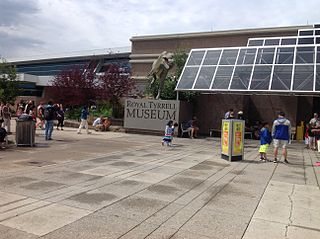 Royal Tyrrell Museum of Palaeontology museum in Alberta, Canada