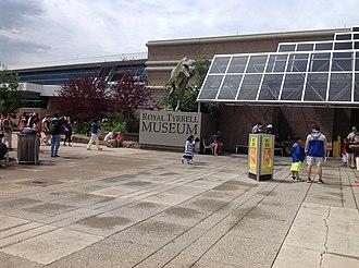 Royal Tyrrell Museum of Palaeontology - Entrance to the Royal Tyrrell Museum