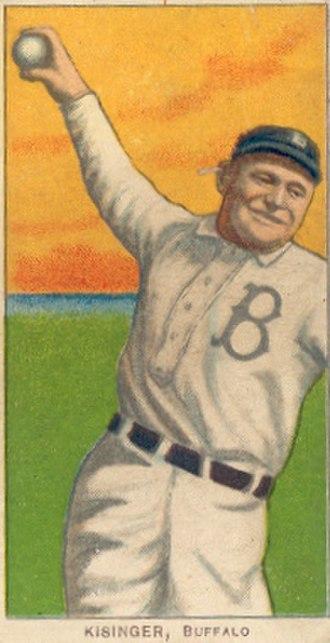 Rube Kisinger - T206 tobacco card, 1909