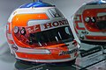Rubens Barrichello 2008 Turkish GP helmet 2014 Honda Collection Hall.jpg