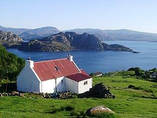 View from Diabaig, looking across Loch Diabaig