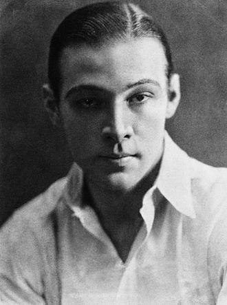 Rudolph Valentino - Valentino in 1919