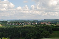 Skyline of Rünenberg