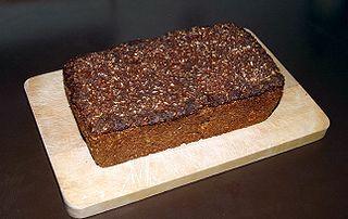 Rugbrød Danish style rye bread