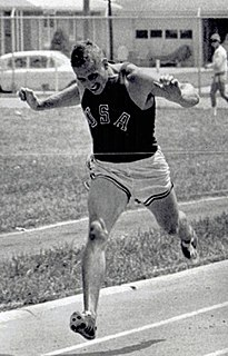 Russ Hodge American decathlete