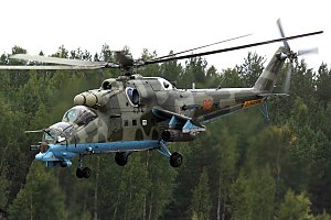 Mil Mi-24 - Image: Russian Air Force Mil Mi 24PN Dvurekov 6