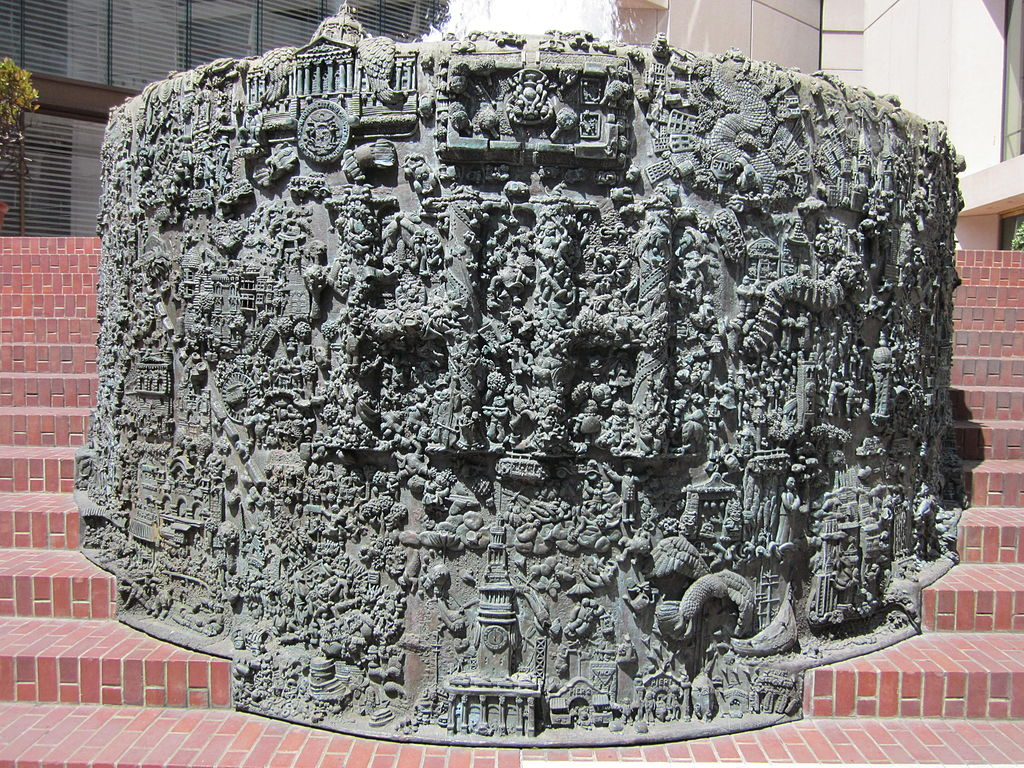 Ruth Asawa's San Francisco fountain 1.JPG