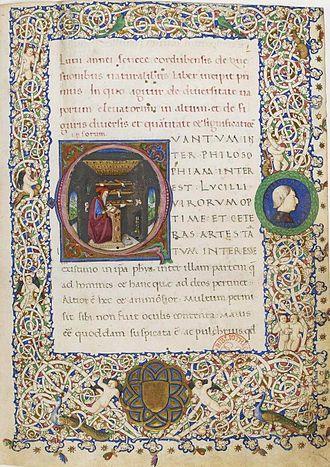 Naturales quaestiones - 13th century manuscript made for the Catalan-Aragonese crown