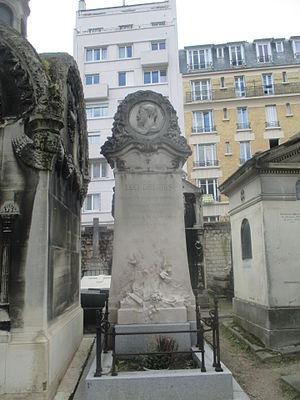 Léo Delibes - Grave in Paris (Cimetière de Montmartre).