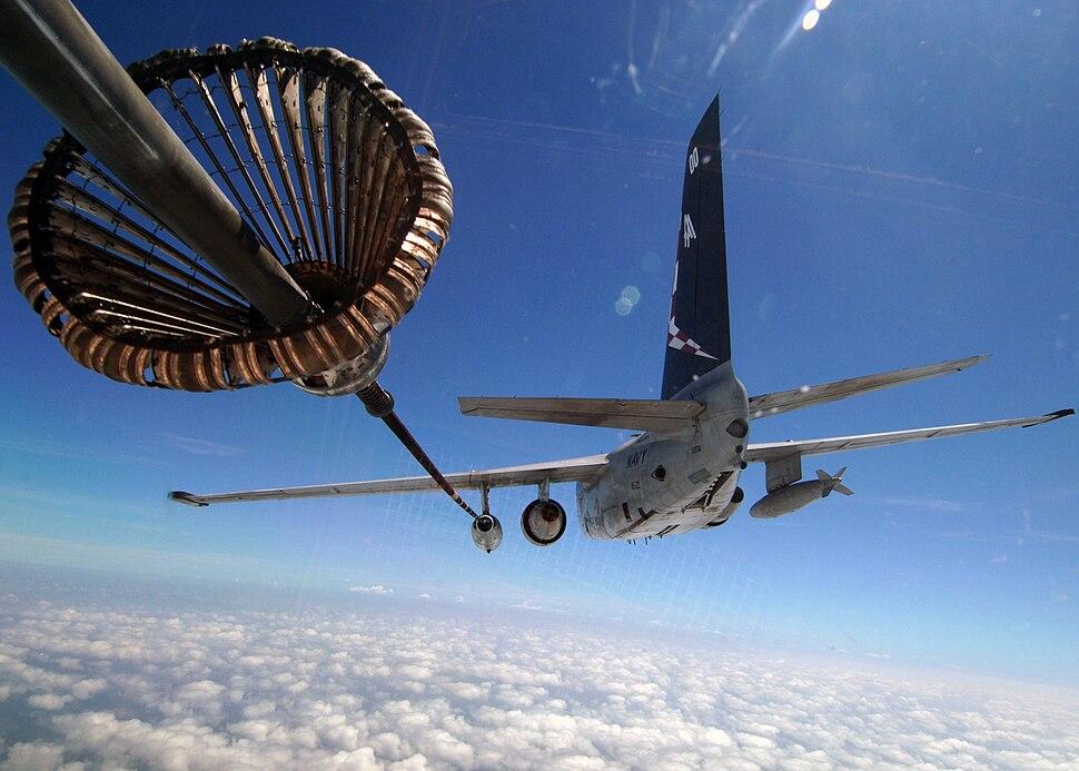 S-3 Viking in-flight refueling
