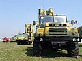 SAM S-300PMU2 vehicles at MAKS-2007 (2).jpg