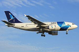 Azores Airlines - Azores Airlines Airbus A310-300 in former SATA Internacional livery