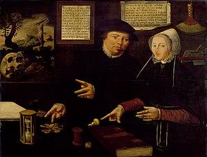 Portrait of Egbert Gerbrantsz and his wife