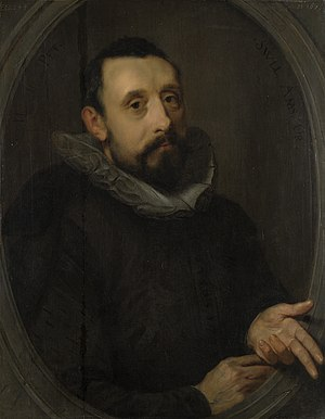 Jan Pieterszoon Sweelinck - One of the two surviving portraits of Sweelinck, this one dates from 1606. It is attributed to Gerrit Pietersz Sweelink, the composer's brother.
