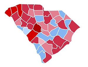 United States presidential election in South Carolina, 1984 - Image: SC1984