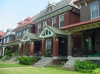 Skinker DeBaliviere, St. Louis - Homes in the Skinker DeBaliviere neighborhood
