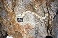 SE Mt Jackson folded aplite in megacrystic granite.jpg