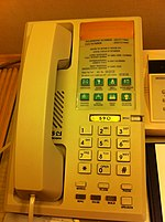 File:SK Korea tour 首爾 最佳西方 首爾花園酒店 Best Western Premier Seoul Garden Hotel room Tel set button panel July-2013.JPG