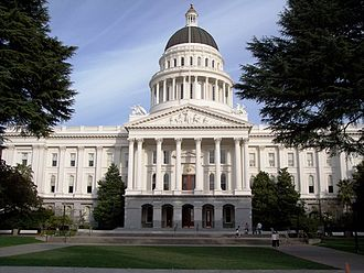 Sacramento metropolitan area - The California State Capitol Building