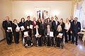 Saeimas priekšsēdētāja sveic Latvijas paralimpisko vienību un Almu Vītolu (22693434374).jpg
