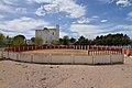 Saelices, plaza de toros y Cooperativa Cereales Alcamancha.jpg