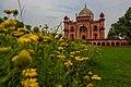 Safdarjung Tomb with flowers.jpg