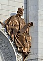 Saint Constantine the Great by Nikolay Ramazanov, replica by Dmitry Tugarinow 1.jpg