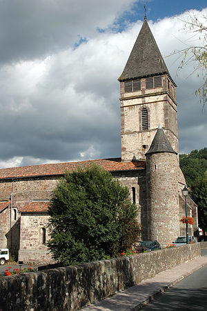 Saint-Étienne-de-Baïgorry - Saint Etienne Church