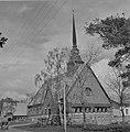 Saint George Church (St Görans Kyrka) in Mariehamn, Åland, 1944.jpg