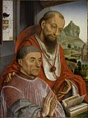 Saint Jerome and a Canon Praying.jpg