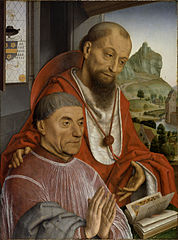 Saint Jerome and a Canon Praying
