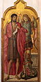 Saint John the Baptist and Saint Michael-Benvenuto di Giovanni-MBA Lyon B-933-IMG 0284.jpg
