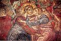 Saint Mary Rassiotissa Church in Kastoria, Judah's Treachery Fresco, 1553.jpg