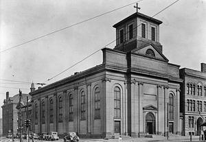 Saints Peter and Paul Church (Detroit) - Image: Saints Peter and Paul Church Detroit 1934