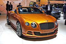 Bentley Continental GT - Wikipedia