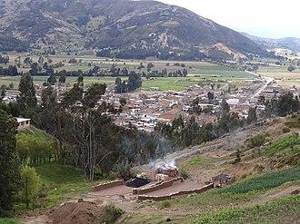 Samacá - View of Samacá