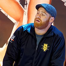 Sami Zayn at WM31 Axxess.jpg