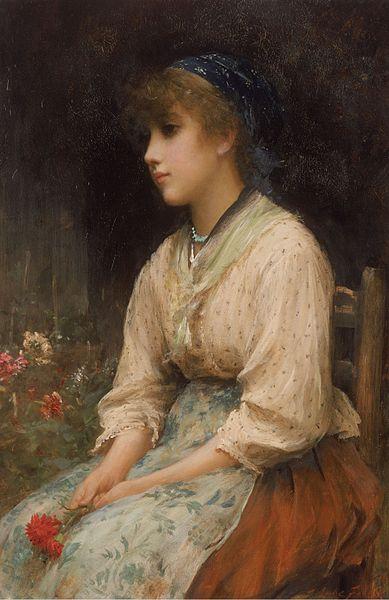 File:Samuel Luke Fildes - A Venetian Flower Girl.jpg