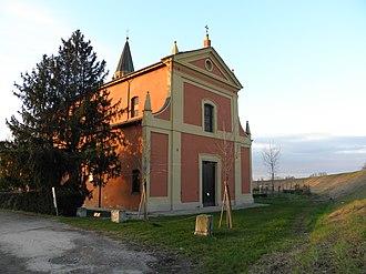 Sala Bolognese - Parish church of San Biagio in the frazione of Bonconvento.