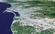 The San Diego-Tijuana metropolitan area.