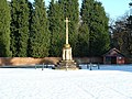 Sandringham War Memorial in the snow - geograph.org.uk - 1180155.jpg