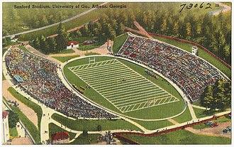Sanford Stadium - Image: Sanford Stadium, University of Ga. Athens, Georgia (8343896302)