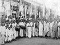 Sankirtana at Sri Bhaktivinoda Asana, Calcutta.jpg