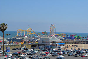 Pacific Park on Santa Monica Pier, Santa Monica, California