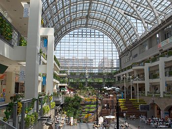 The Atrium in the Sapporo Factory in Chuo-ku, ...